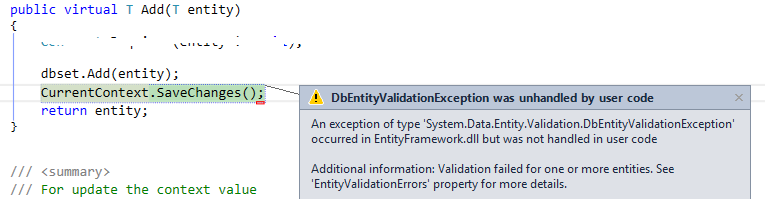 System.Data.Entity.Validation.DbEntityValidationException